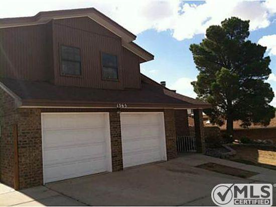 1365 Vista Granada Dr, El Paso, TX 79936