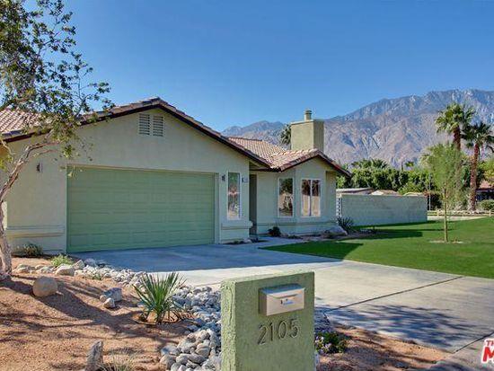 2105 E Hildy Ln, Palm Springs, CA 92262