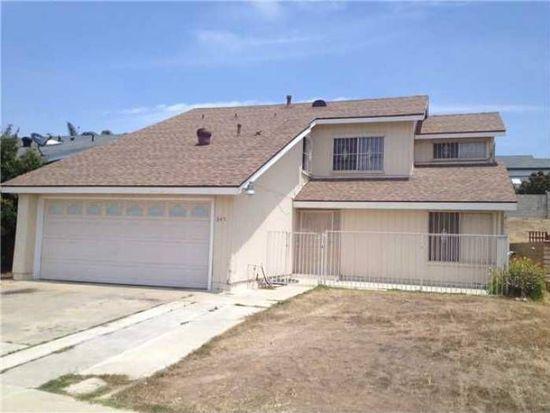845 Firethorn St, San Diego, CA 92154