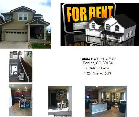 10503 Rutledge St, Parker, CO 80134