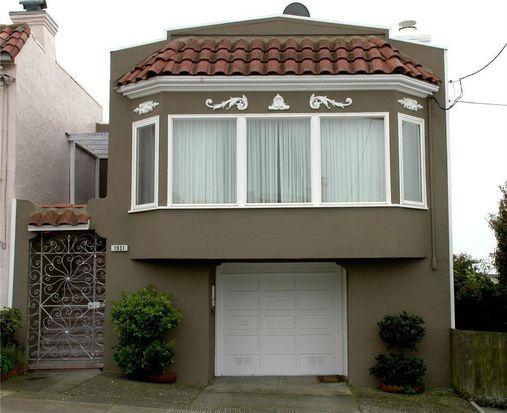 1931 Santiago St, San Francisco, CA 94116