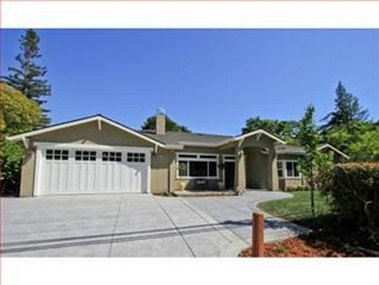1255 Santa Cruz Ave, Menlo Park, CA 94025
