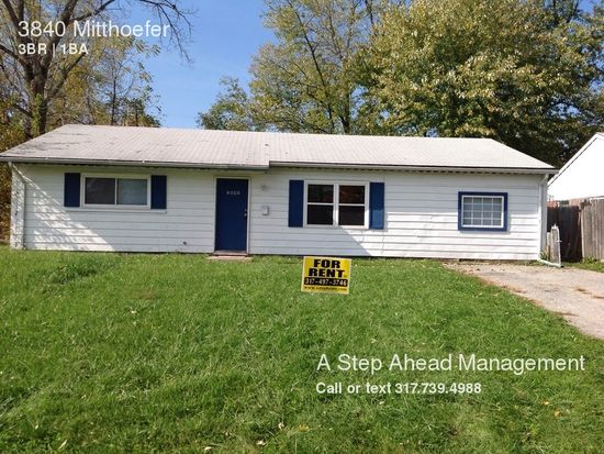 3840 N Mitthoefer Rd, Oaklandon, IN 46235