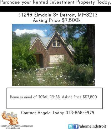 11249 Elmdale St, Detroit, MI 48213