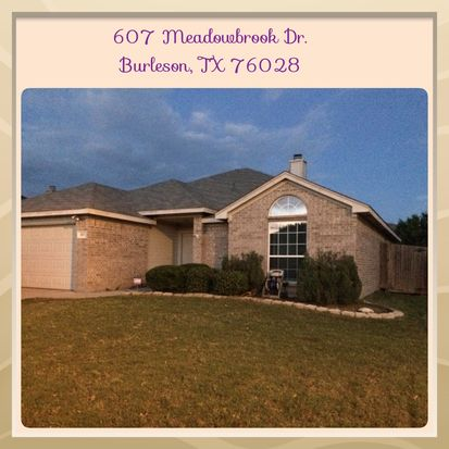 607 Meadowbrook Dr, Burleson, TX 76028