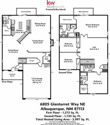 6805 Glenturret Way NE, Albuquerque, NM 87113