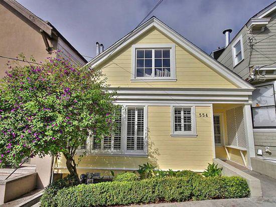 554 Diamond St, San Francisco, CA 94114