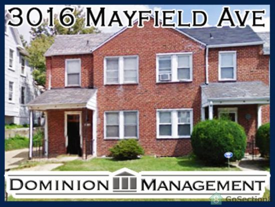 3016 Mayfield Ave, Baltimore, MD 21213