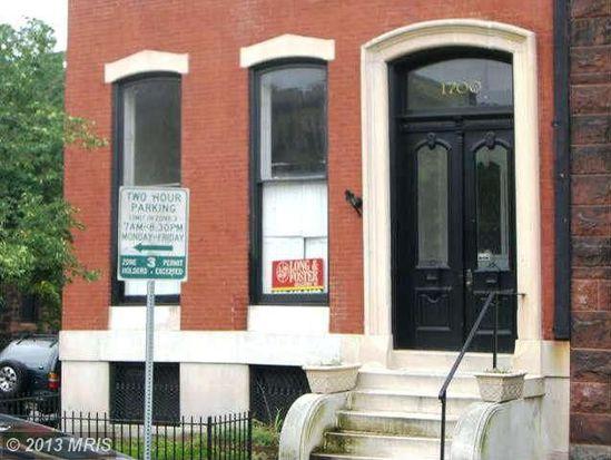 1700 Park Ave APT 1, Baltimore, MD 21217