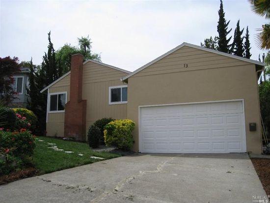 13 Sereno Pl, Vallejo, CA 94589