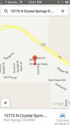 15775 N Crystal Springs Dr, Palm Springs, CA 92262