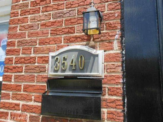 3540 Pelham Ave, Baltimore, MD 21213