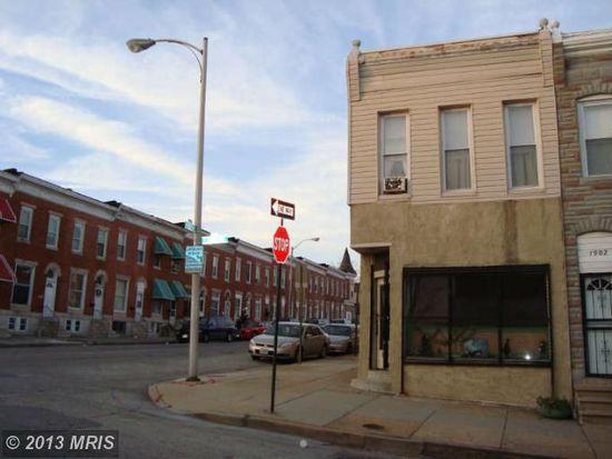 1900 E Lanvale St, Baltimore, MD 21213
