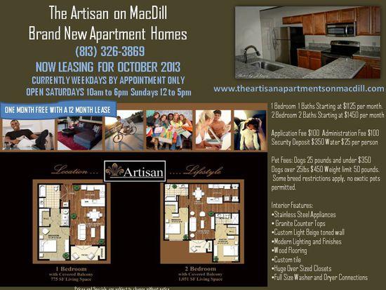 5100 S Macdill Ave UNIT 117, Tampa, FL 33611