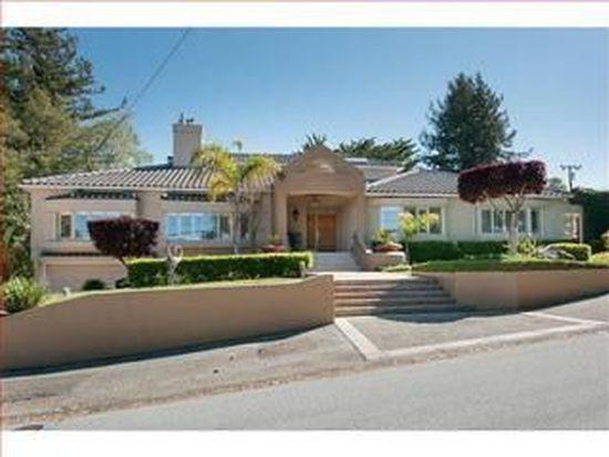135 Bella Vista Dr, Hillsborough, CA 94010