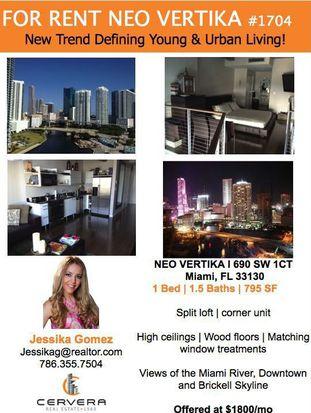 690 SW 1st Ct APT 1704, Miami, FL 33130