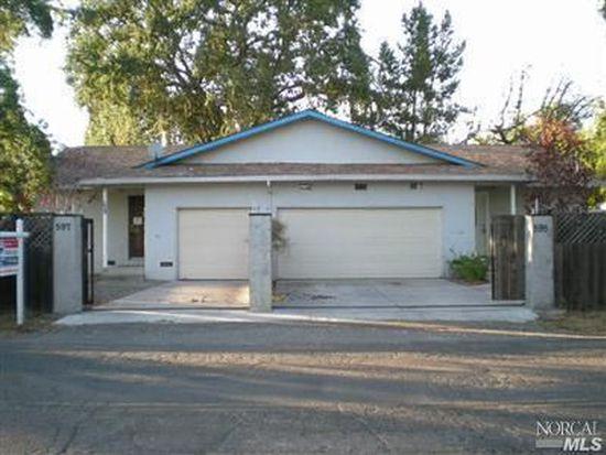 595 Craig Ave, Sonoma, CA 95476