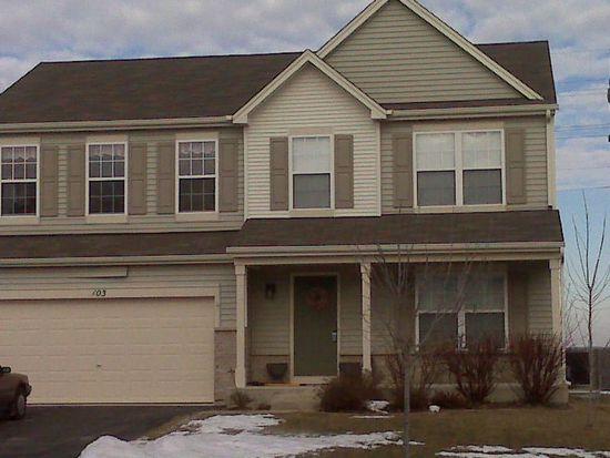 103 E Clover Ave, Cortland, IL 60112