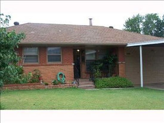 308 W Coe Dr, Midwest City, OK 73110