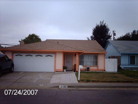 212 Dixie Ct, Vallejo, CA 94589