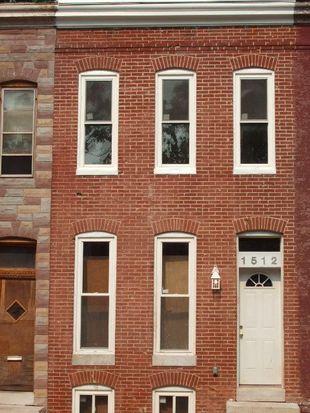 1512 Holbrook St, Baltimore, MD 21202
