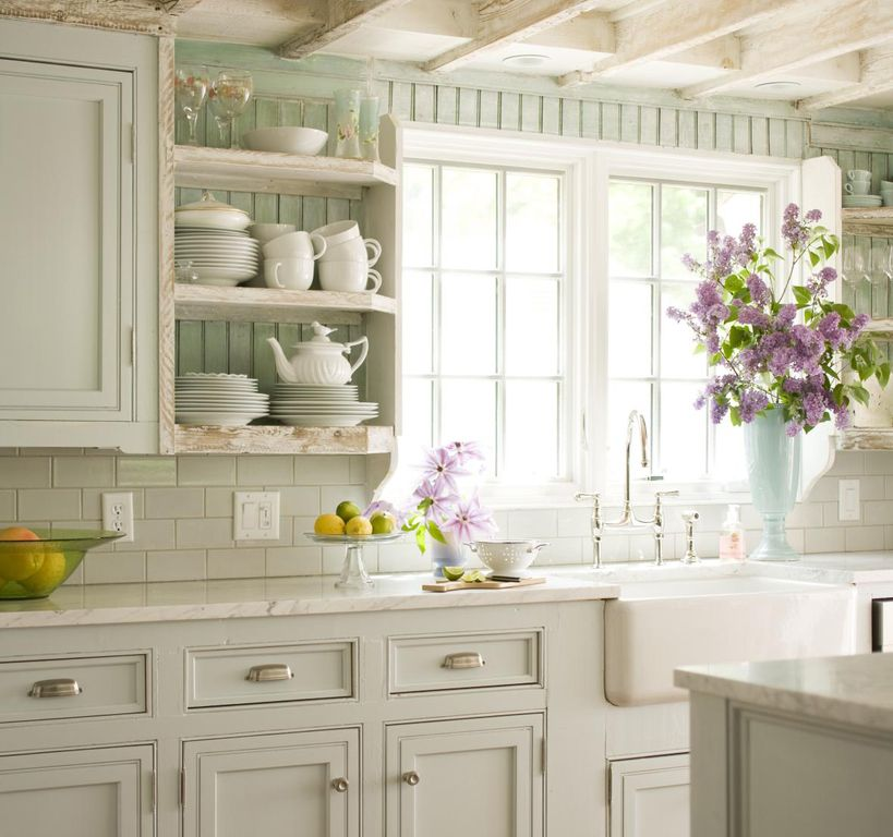 Cottage Kitchen Cabinets: Great Cottage Kitchen
