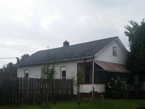 2 bed 1 bath Single Family at 110 S Denby Ave Evansville, IN, 47713 is for sale at 55k - google static map