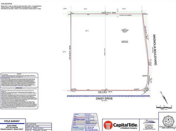 null bed null bath Vacant Land at 2405 Daisy Dr Austin, TX, 78727 is for sale at 120k - google static map