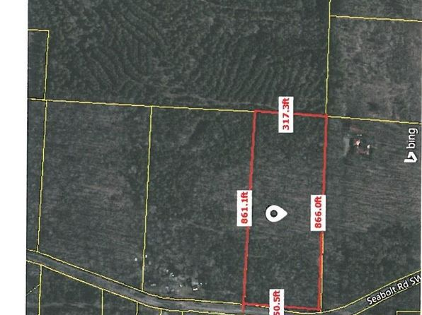 null bed null bath Vacant Land at 270 Seabolt Rd SW Adairsville, GA, 30103 is for sale at 55k - 1 of 2