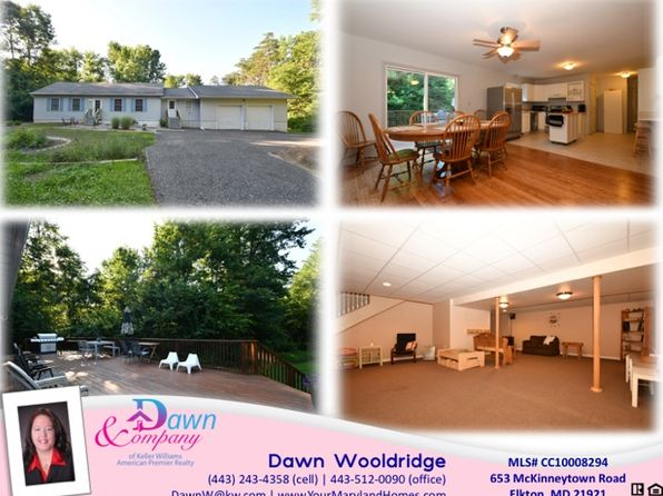 5 bed 2 bath Single Family at 653 McKinneytown Rd Elkton, MD, 21921 is for sale at 315k - 1 of 29