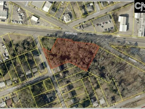 null bed null bath Vacant Land at  Sunset Blvd West Columbia, SC, 29169 is for sale at 200k - google static map