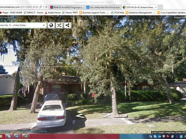 3 bed 2 bath Single Family at 2375 Flo Dr W Jacksonville, FL, 32216 is for sale at 125k - google static map