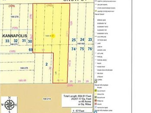 null bed null bath Vacant Land at 413 Snow St Kannapolis, NC, 28081 is for sale at 22k - google static map