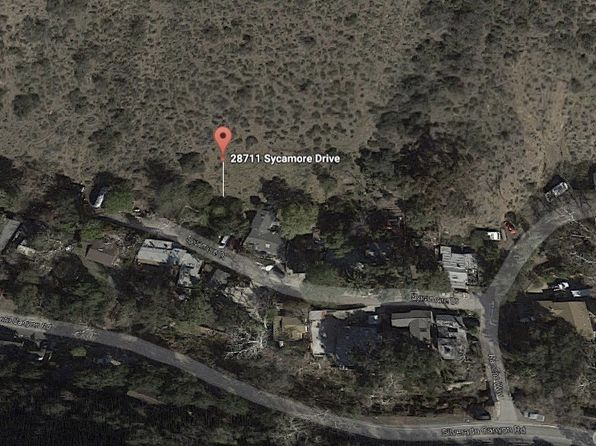 null bed null bath Vacant Land at 28711 Sycamore Dr Silverado Canyon, CA, 92676 is for sale at 65k - google static map