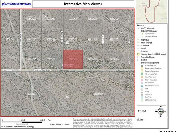 null bed null bath Vacant Land at  Lot 9 W Quartzite Dr Golden Valley, AZ, 86413 is for sale at 6k - google static map