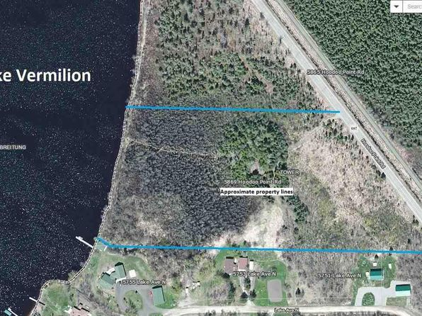 null bed null bath Vacant Land at 5869 Hoodoo Point Rd Tower, MN, 55790 is for sale at 50k - 1 of 3