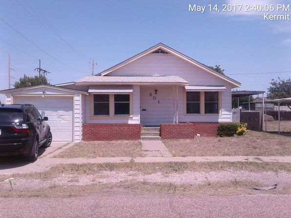 3 bed 2 bath Single Family at 601 Martin St Kermit, TX, 79745 is for sale at 40k - 1 of 6