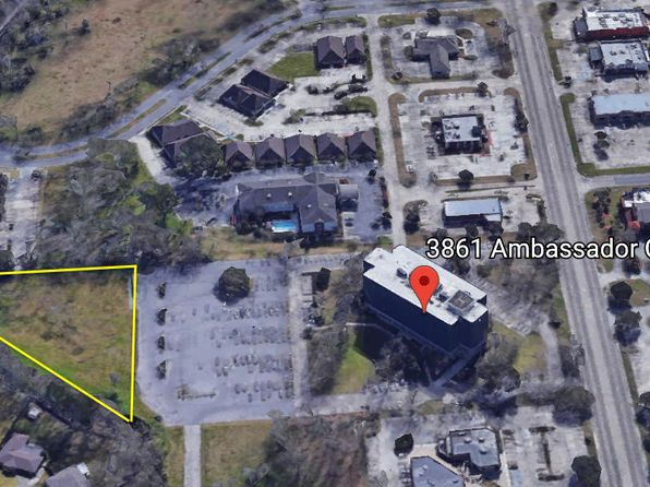 null bed null bath Vacant Land at 3861 Ambassador Caffery Pkwy Lafayette, LA, 70503 is for sale at 871k - google static map