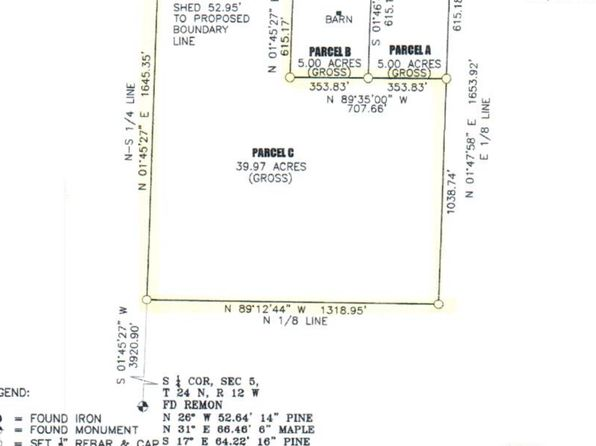 null bed null bath Vacant Land at 10342 W County Line Rd Thompsonville, MI, 49683 is for sale at 85k - 1 of 7