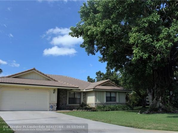 4 bed 2 bath Single Family at 4228 NW 73rd Ave Pompano Beach, FL, 33065 is for sale at 420k - 1 of 23
