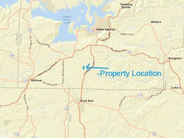 null bed null bath Vacant Land at Undisclosed Address Heber Springs, AR, 72545 is for sale at 55k - google static map