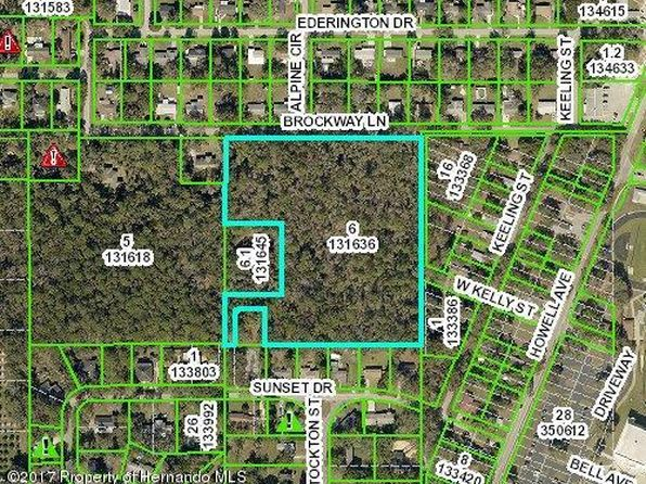 null bed null bath Vacant Land at 0 Brockway Brooksville, FL, 34601 is for sale at 75k - 1 of 35