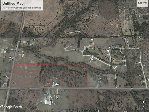 null bed null bath Vacant Land at E Hardesty Rd Shawnee, OK, 74801 is for sale at 140k - google static map