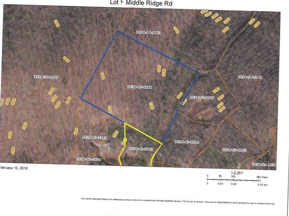 null bed null bath Vacant Land at  Lot F Middle Ridge Rd Sylva, NC, 28779 is for sale at 49k - google static map