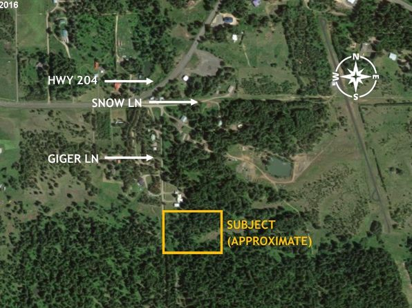 null bed null bath Vacant Land at  Giger Ln Weston, OR, 97886 is for sale at 57k - google static map