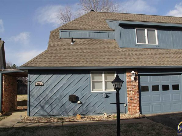 2 bed 2 bath Townhouse at 2925 SW Foxcroft 2 Ct Topeka, KS, 66614 is for sale at 93k - 1 of 10