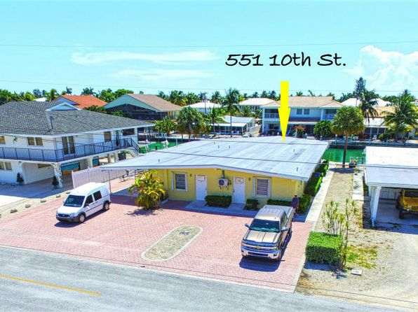 5 bed 5 bath Single Family at 541 & 551 10th St Key Colony, FL, 33051 is for sale at 950k - 1 of 28