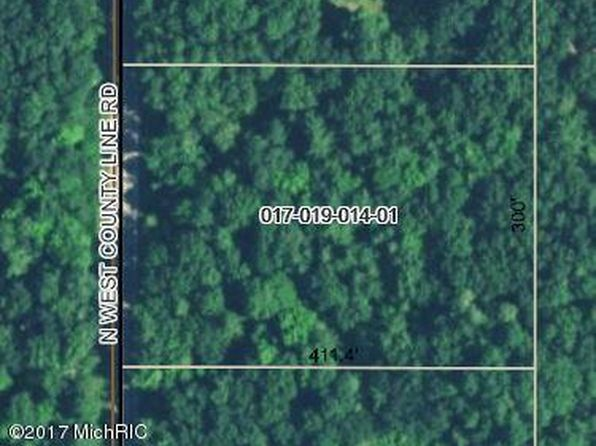 null bed null bath Vacant Land at 0 W County Line Sand Lake, MI, 49343 is for sale at 25k - google static map