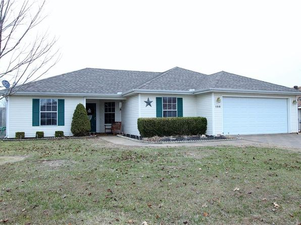 3 bed 2 bath Single Family at 105 N Bailey St Lowell, AR, 72745 is for sale at 155k - 1 of 16