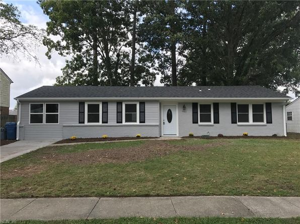 4 bed 2 bath Single Family at 621 Presidential Blvd Virginia Beach, VA, 23452 is for sale at 255k - 1 of 19